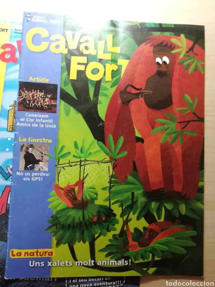 Libros de segunda mano: Cavall Fort - 15 números - Foto 2 - 164866888