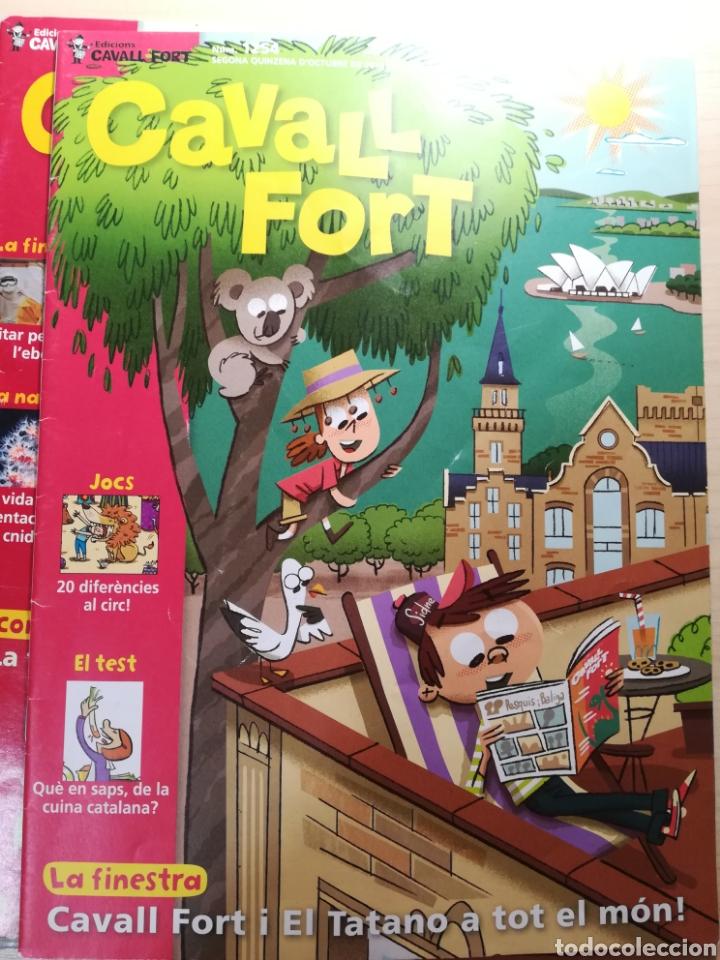 Libros de segunda mano: Cavall Fort - 15 números - Foto 3 - 164866888