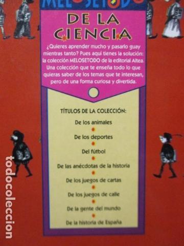 Libros de segunda mano: ME LO SE TODO DE LA CIENCIA - CARLOS FRABETTI - COMO NUEVO - Foto 17 - 220659710