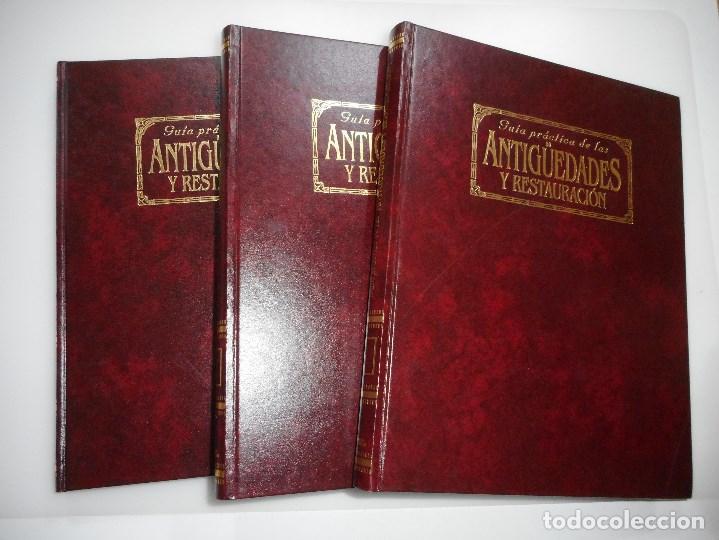 GUÍA PRÁCTICA DE LAS ANTIGÜEDADES Y RESTAURACIÓN Y94093 (Libros de Segunda Mano - Bellas artes, ocio y coleccionismo - Otros)