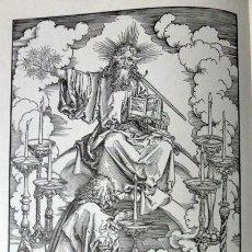 Libros de segunda mano: ALBERTO DURERO, APOCALIPSIS - GRAN PASIÓN - VIDA DE MARÍA - GRABADOS COMPLETOS EN MADERA. Lote 165053618