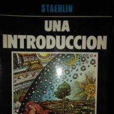 Libros de segunda mano: CARLOS STAEHLIN. UNA INTRODUCCION AL CINE. U. DE VALLADOLID 1979 1ª ED.. Lote 165076294