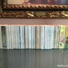 Libros de segunda mano: ORIGINAL LOTE LIQUIDACION 53 MINI LIBROS AÑOS 50/60 VINTAGE ENCICLOPEDIA PULGA. Lote 165098550