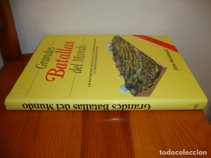 Libros de segunda mano: GRANDES BATALLAS DEL MUNDO. LAS MÁS GRANDES BATALLAS DE LA HISTORIA EN GRÁFICOS TRIDIMENSIONALES - Foto 2 - 165119686