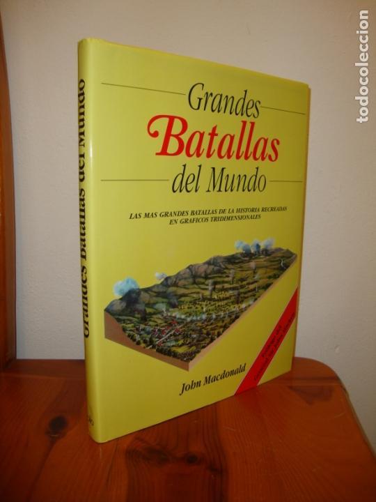 GRANDES BATALLAS DEL MUNDO. LAS MÁS GRANDES BATALLAS DE LA HISTORIA EN GRÁFICOS TRIDIMENSIONALES (Libros de Segunda Mano - Historia - Otros)