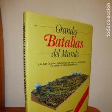 Libros de segunda mano: GRANDES BATALLAS DEL MUNDO. LAS MÁS GRANDES BATALLAS DE LA HISTORIA EN GRÁFICOS TRIDIMENSIONALES. Lote 165119686