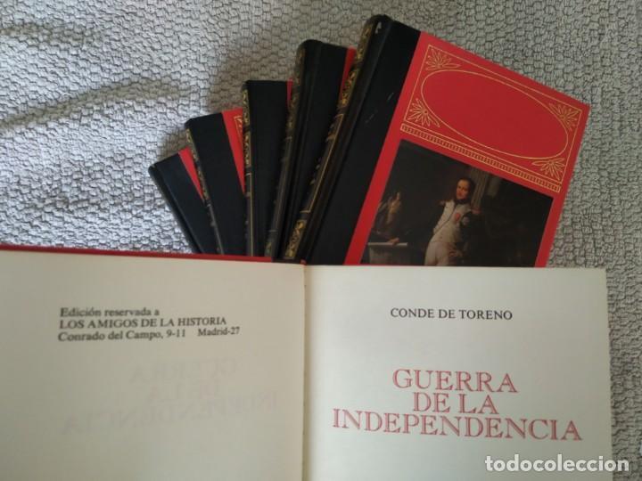 GUERRA DE LA INDEPENDENCIA - CONDE DE TORENO. 6 TOMOS. COMPLETO. (Libros de Segunda Mano - Historia - Otros)
