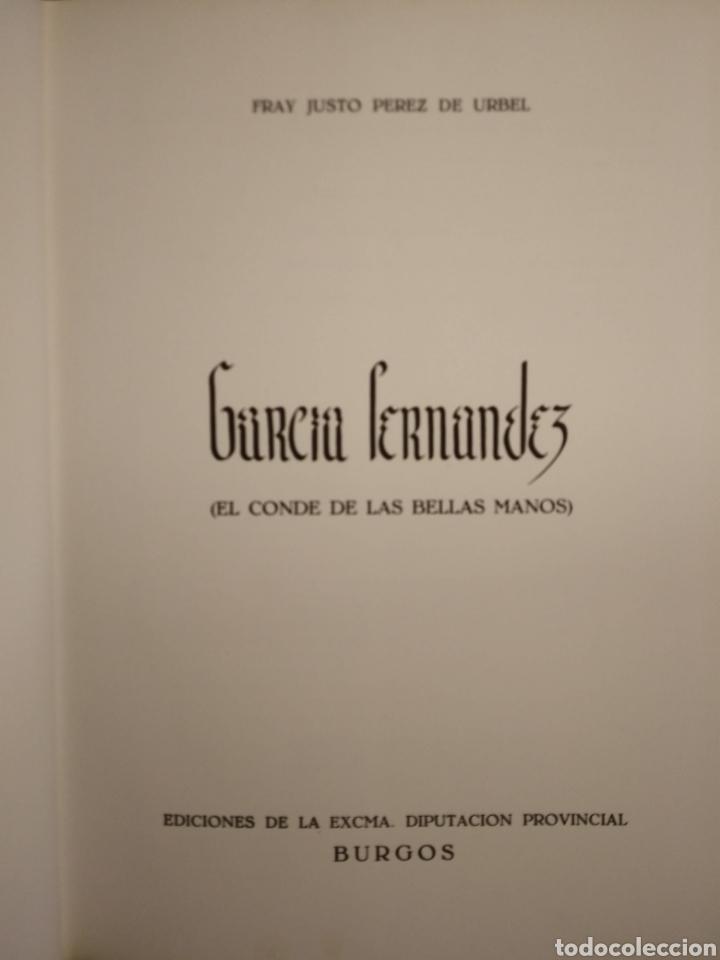 Libros de segunda mano: FRAY JUSTO PEREZ DE URBEL. GARCIA FERNANDEZ. 1979. - Foto 2 - 165206554