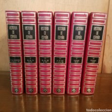 Libros de segunda mano: HISTORIA DE ESPAÑA PLAZA Y JANES 6 TOMOS OBRA COMPLETA. Lote 165208380