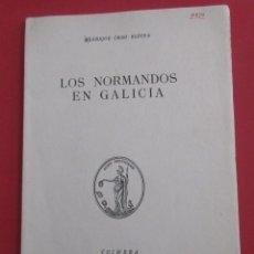 Gebrauchte Bücher - LOS NORMANDOS EN GALICIA. E. CHAO ESPINA. COIMBRA 1965. DEDICADO.81 PÁGINAS. 23,5 X 16,5 CM. - 165217518