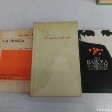 Libros de segunda mano: TRES LIBROS DE PÍO BAROJA. Lote 165251888