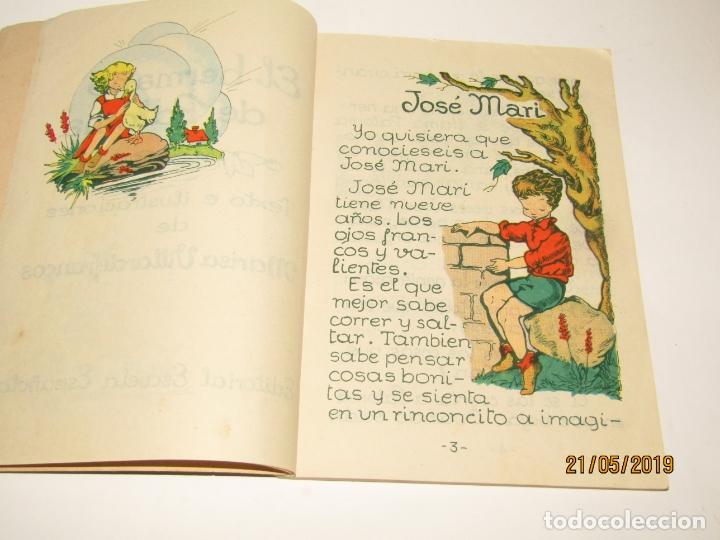 Libros de segunda mano: EL HERMANO DE PALOMA por Glória Villardefrancos de Editorial Escuela Española - Foto 8 - 165256766
