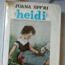 Libros de segunda mano: JUANA SPYRI : HEIDI . Lote 165263906