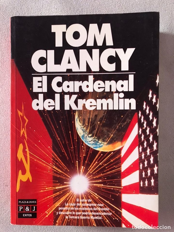 EL CARDENAL DEL KREMLIN - TOM CLANCY (Libros de Segunda Mano - Historia - Otros)