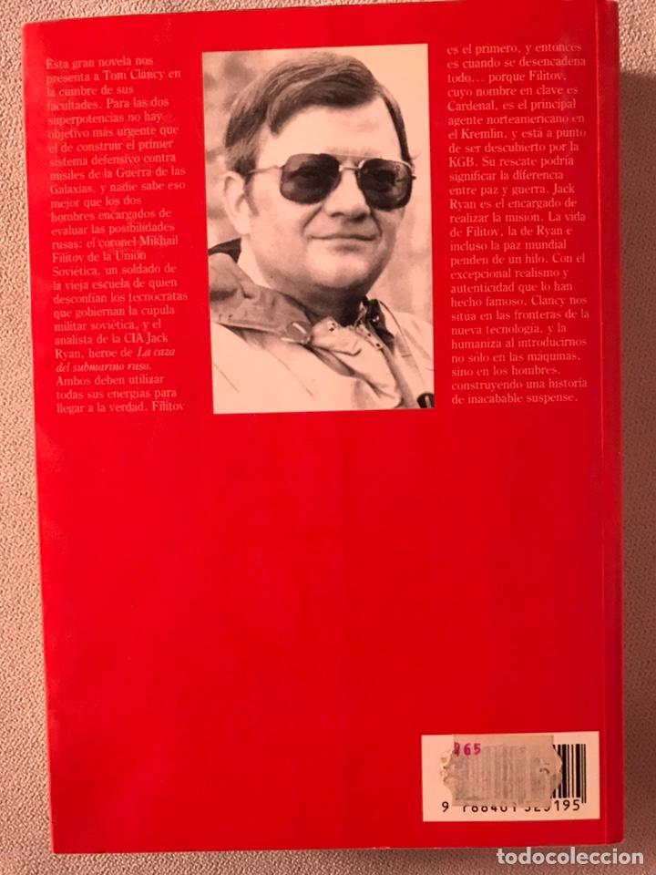 Libros de segunda mano: EL CARDENAL DEL KREMLIN - TOM CLANCY - Foto 2 - 165273993