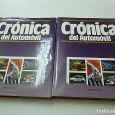 Libros de segunda mano: CRÓNICA DEL AUTOMÓVIL, DOS TOMOS . PLAZA JANÉS. 1.995-N 4. Lote 165304210
