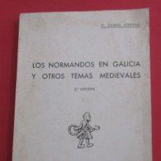 Gebrauchte Bücher - LOS NORMANDOS EN GALICIA Y OTROS TEMAS MEDIEVALES.E.CHAO ESPINA.1977,DEDICADO.SIN PAGINAR. 21X15,5CM - 165308954