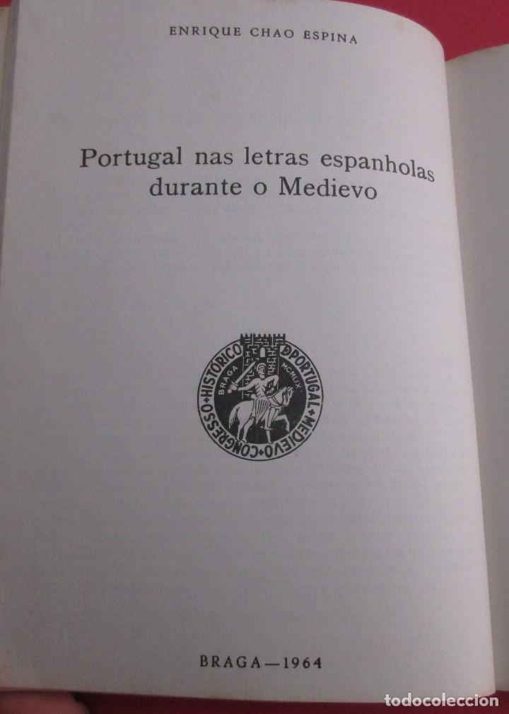Libros de segunda mano: LOS NORMANDOS EN GALICIA Y OTROS TEMAS MEDIEVALES.E.CHAO ESPINA.1977,DEDICADO.SIN PAGINAR. 21X15,5CM - Foto 3 - 165308954