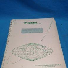 Libros de segunda mano: IBERIA, LÍNEAS AÉREAS DE ESPAÑA, SISTEMA DE NAVEGACIÓN DOPPLER, 1965. Lote 165313277