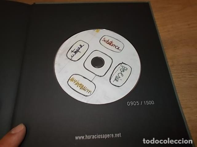 Libros de segunda mano: HORACIO SAPERE . POET'S ROOM TEOREMA. 1ª EDICIÓN 2009. INCLUYE DVD. EXTRAORDINARIO EJEMPLAR. - Foto 23 - 165314694