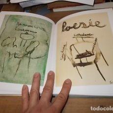 Libros de segunda mano: HORACIO SAPERE . POET'S ROOM TEOREMA. 1ª EDICIÓN 2009. INCLUYE DVD. EXTRAORDINARIO EJEMPLAR. . Lote 165314694