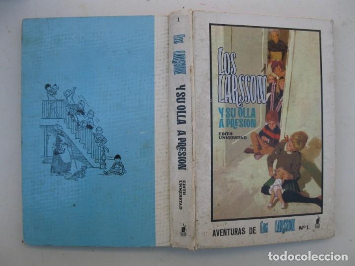 Libros de segunda mano: AVENTURAS DE LOS LARSSON - Nº 1 - LOS LARSSON Y SU OLLA A PRESIÓN - EDITH UNNERSTAD - MOLINO. - Foto 2 - 165350942