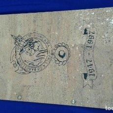 Libros de segunda mano: LLIBRET FALLA CRT. BARCELONA CAMINO MONCADA 50 ANIVERSARIO. Lote 165364006