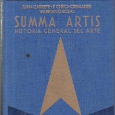 Libros de segunda mano: SUMMA ARTIS - VOL. XXXI - 1ª EDICION 1987 - EL GRABADO EN ESPAÑA - SIGLOS XV AL XVIII. Lote 165374690