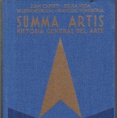 Libros de segunda mano: SUMMA ARTIS - VOL. XXXII - 1ª EDICION 1988 - EL GRABADO EN ESPAÑA - SIGLOS XIX / XX. Lote 165390070