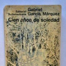 Libros de segunda mano: GABRIEL GARCÍA MARQUEZ - CIEN AÑOS DE SOLEDAD - 1967 PRIMERA EDICION. Lote 165394118