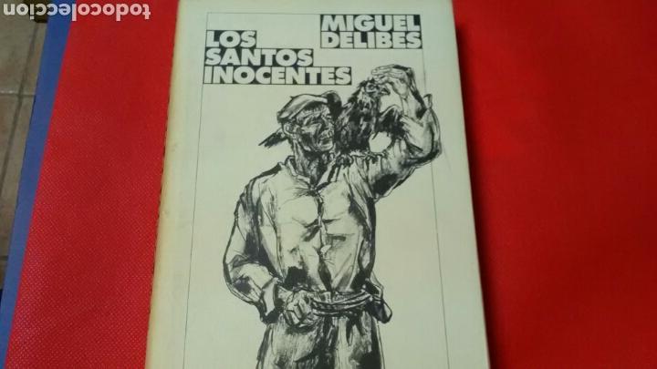 LOS SANTOS INOCENTES . MIGUEL DELIBES .CÍRCULO DE LECTORES . (Libros de Segunda Mano (posteriores a 1936) - Literatura - Otros)