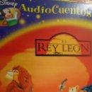 Libros de segunda mano: LIBRO AUDIO CUENTOS DISNEY N. 3 EL REY LEÓN. Lote 165476850