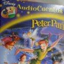 Libros de segunda mano: LIBRO AUDIO CUENTOS DISNEY N. 8 PETER PAN. Lote 165476990