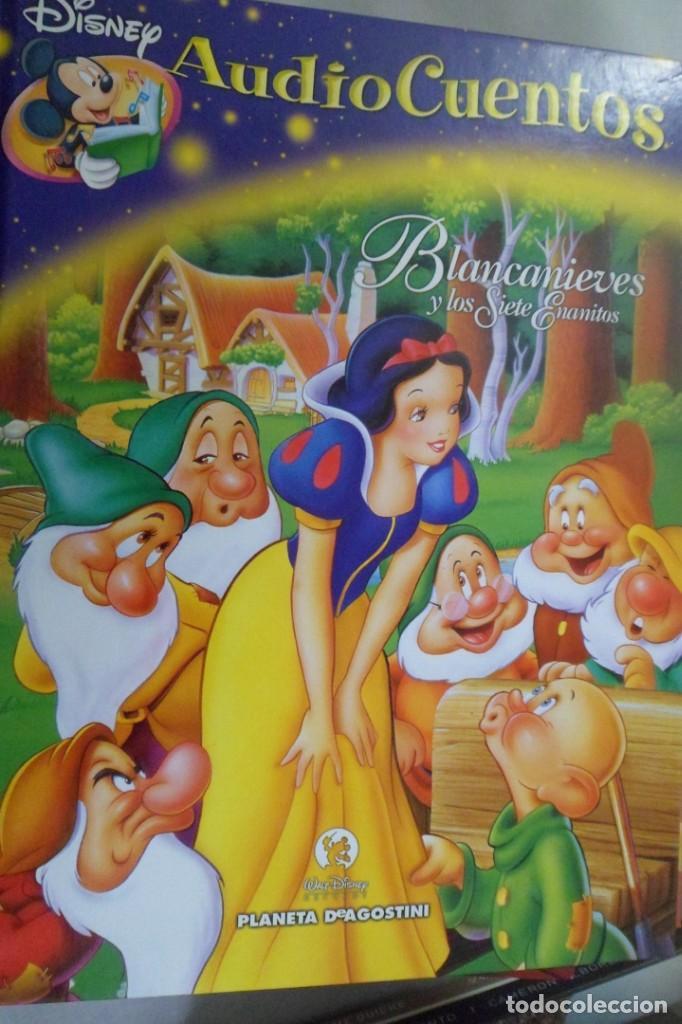 LIBRO AUDIO CUENTOS DISNEY N. 9 BLANCANIEVES Y LOS SIETE ENANITOS (Libros de Segunda Mano - Literatura Infantil y Juvenil - Otros)