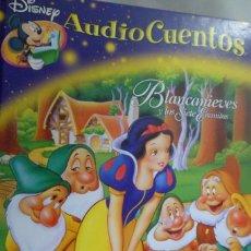 Libros de segunda mano: LIBRO AUDIO CUENTOS DISNEY N. 9 BLANCANIEVES Y LOS SIETE ENANITOS. Lote 165477226