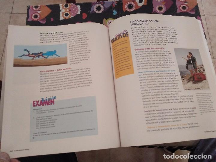 Libros de segunda mano: ESPECTACULAR TOMO CURSO DE BUCEO EN ESPAÑOL ADVENTURES IN DIVING MANUAL 2001 - Foto 21 - 165491830