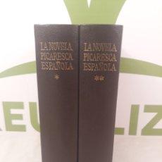 Libros de segunda mano: LA NOVELA PICARESCA.2 VOLUMENES.AGUILAR.. Lote 165513726