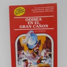 Libros de segunda mano: LIBRO ELIGE TU PROPIA AVENTURA, ODISEA EN EL GRAN CAÑON Nº40, TIMUN MAS . Lote 165515066