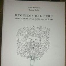 Libros de segunda mano: HECHIZOS DEL PERÚ.. Lote 165646194