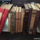 Libros de segunda mano: LOTE DE 12 LIBROS MUY ANTIGUOS (VER FOTOS UNO A UNO ). Lote 165765434