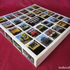 Libros de segunda mano: AUTOGRAFIADO AUTOMOTORES ESPAÑOLES (1906-1991) - JAVIER ARANGUREN LOCOMOTORA TREN FERROCARRIL RENFE. Lote 165869394