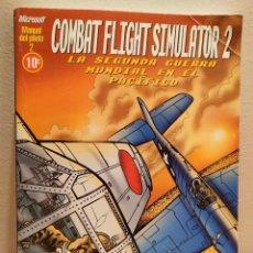 Libros de segunda mano: COMBAT FLIGHT SIMULATOR 2, SEGUNDA GUERRA MUNDIAL EN EL PACÍFICO, MANUAL DEL PILOTO. Lote 165881790