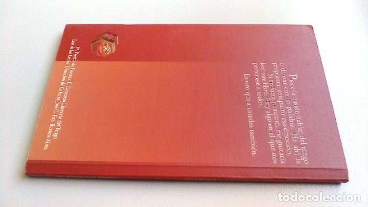 Libros de segunda mano: EL TANGO CON DARIO / MARIA BERNAD / DEDICATORIA AUTOGRAFA / / G203 - Foto 2 - 165902402
