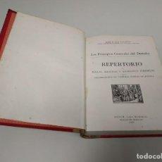 Libros de segunda mano: 519- LOS PRINCIPALES GENERALES DEL DERECHO REPERTORIO 1947 M PUIGARNAU 531 PAG . Lote 165956510