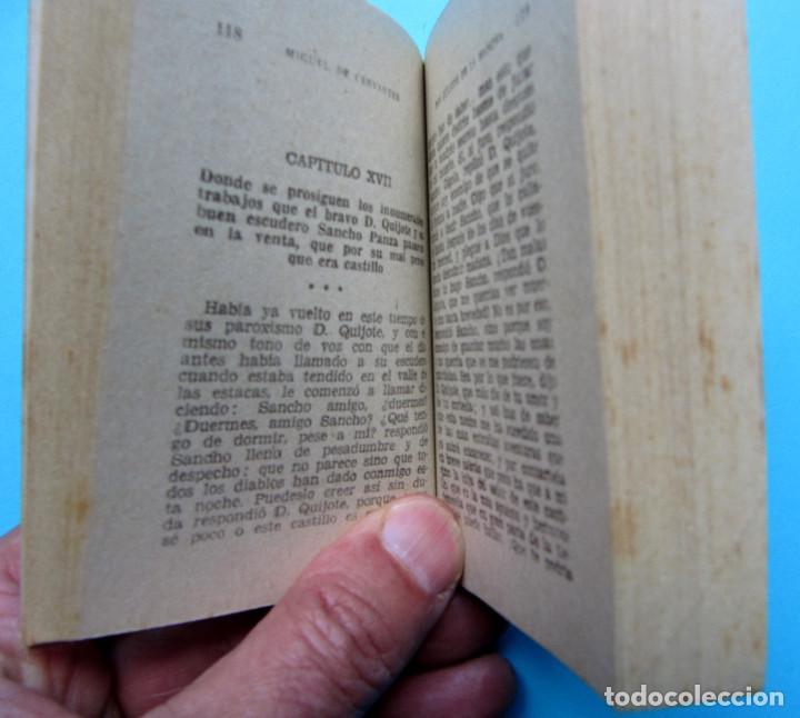 Libros de segunda mano: EL INGENIOSO HIDALGO DON QUIJOTE DE LA MANCHA. II TOMOS CERVANTES. ENCICLOPEDIA PULGA. GIGANTE, S/F - Foto 4 - 165973214