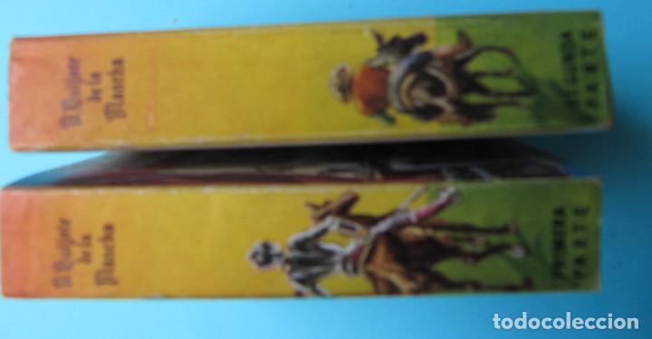 Libros de segunda mano: EL INGENIOSO HIDALGO DON QUIJOTE DE LA MANCHA. II TOMOS CERVANTES. ENCICLOPEDIA PULGA. GIGANTE, S/F - Foto 6 - 165973214
