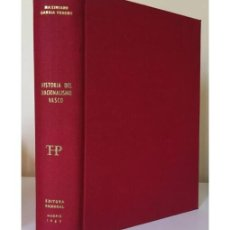 Libros de segunda mano: HISTORIA DEL NACIONALISMO VASCO. Lote 165991990