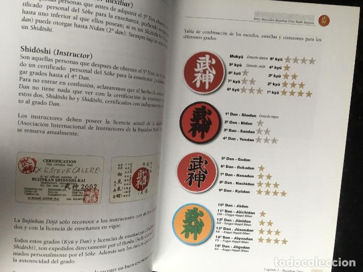 Libros de segunda mano: BUJINKAN BUDÔ TAIJUTSU - TRADICION NINJA - CAMINANDO POR LA ESENCIA DEL ARTE MARCIAL ALEX ESTEVE - Foto 4 - 166043014