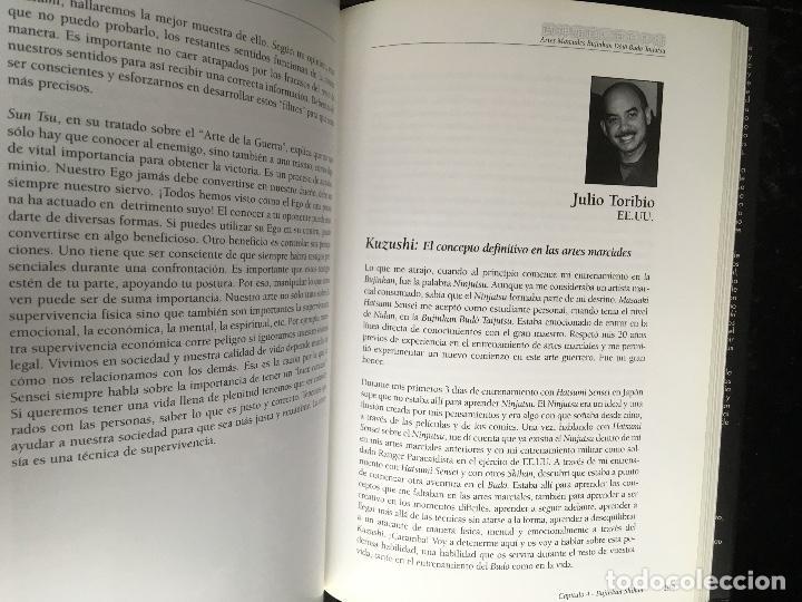 Libros de segunda mano: BUJINKAN BUDÔ TAIJUTSU - TRADICION NINJA - CAMINANDO POR LA ESENCIA DEL ARTE MARCIAL ALEX ESTEVE - Foto 9 - 166043014