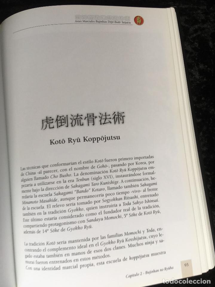 Libros de segunda mano: BUJINKAN BUDÔ TAIJUTSU - TRADICION NINJA - CAMINANDO POR LA ESENCIA DEL ARTE MARCIAL ALEX ESTEVE - Foto 11 - 166043014